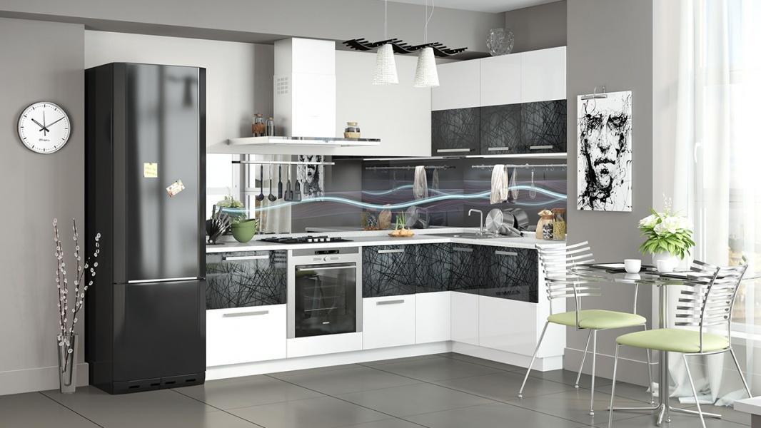 съёмок дизайн угловой кухни фотогалерея вариант